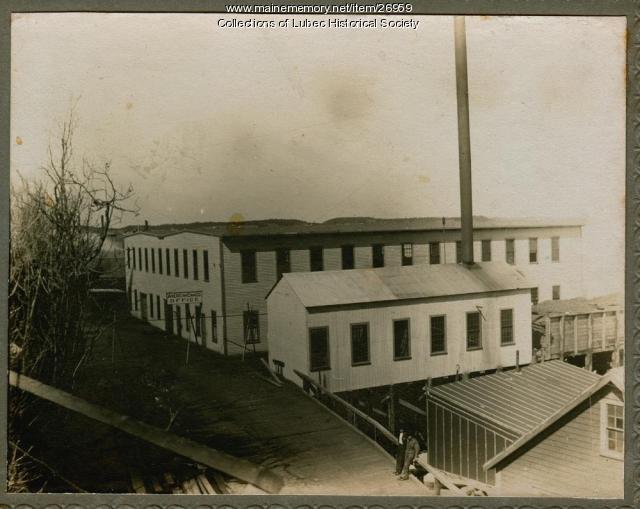 American Can Company, Lubec, ca. 1915
