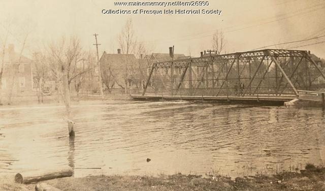 Flooding on the Presque Isle Stream, 1923
