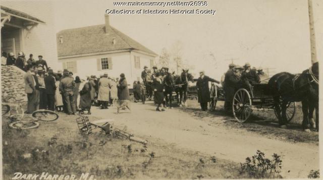 Islesboro Town Meeting, 1933