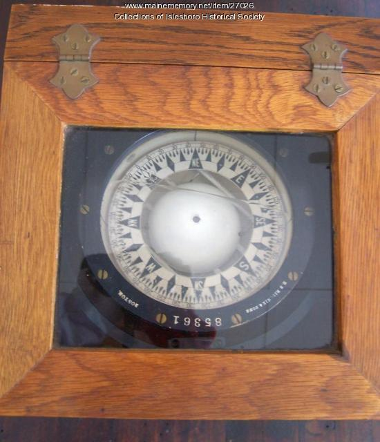 Ship Compass, Islesboro, ca. 1940