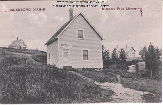 Islesboro Free Library, ca. 1910