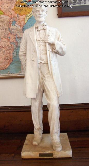Abraham Lincoln Statue, Islesboro, ca. 1914