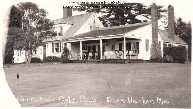 Tarratine Golf Club, Isleboro, ca. 1920