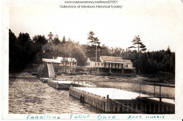 Tarratine Yacht Club, Islesboro, ca. 1925