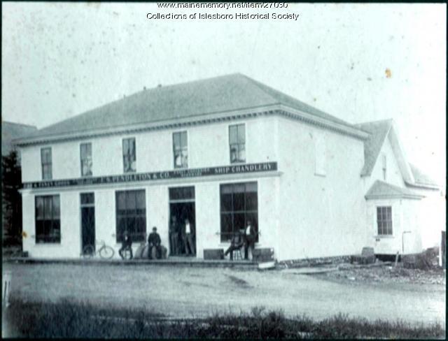 F.S. Pendleton and Company Store, Islesboro, ca. 1880