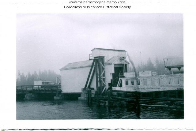 Governor Brann Ferry, Islesboro, ca. 1935