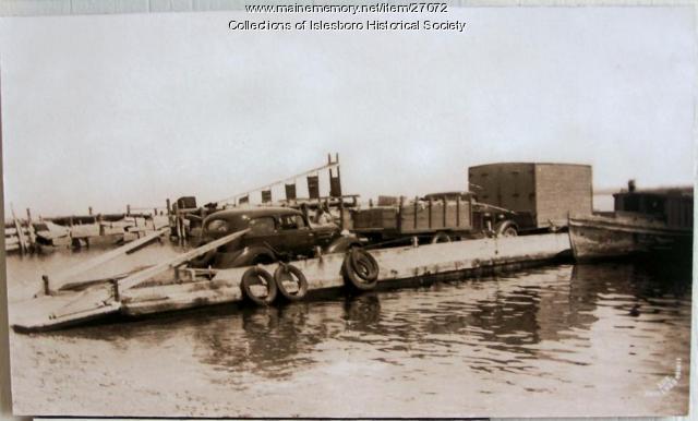 McLeod Scow, Islesboro, ca. 1933