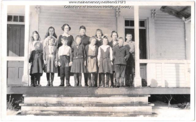The Parker School, Islesboro, ca. 1920