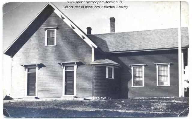 Pendleton School, Islesboro, ca. 1940