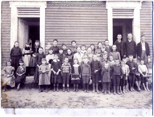 Ryder's School, Islesboro, ca. 1880