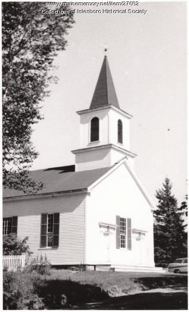 Free Will Baptist Church, Islesboro, ca. 1950
