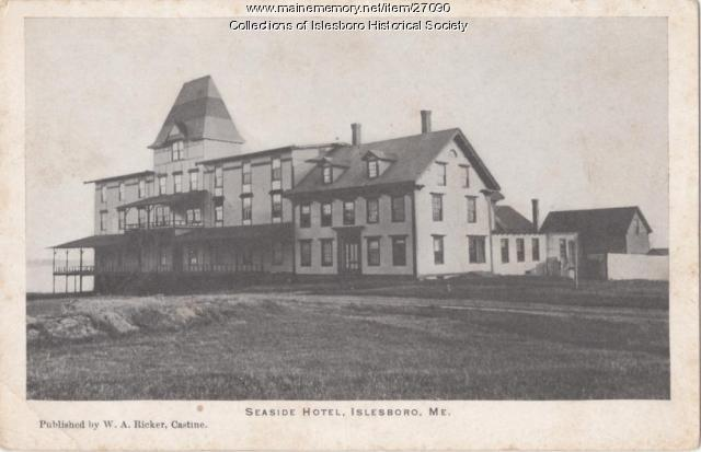 Seaside Hotel, Islesboro, ca. 1900