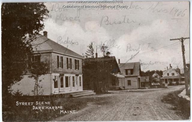 Dark Harbor Village, 1906