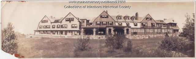 The Islesboro Inn, ca. 1913