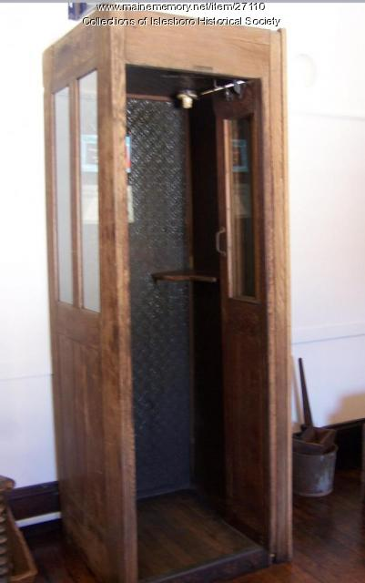 Telephone Booth, Islesboro, ca. 1919