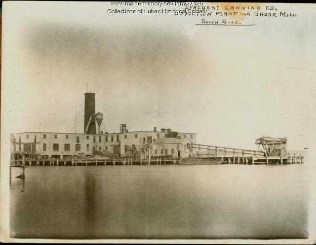 Seacoast Canning Company, Lubec, 1920