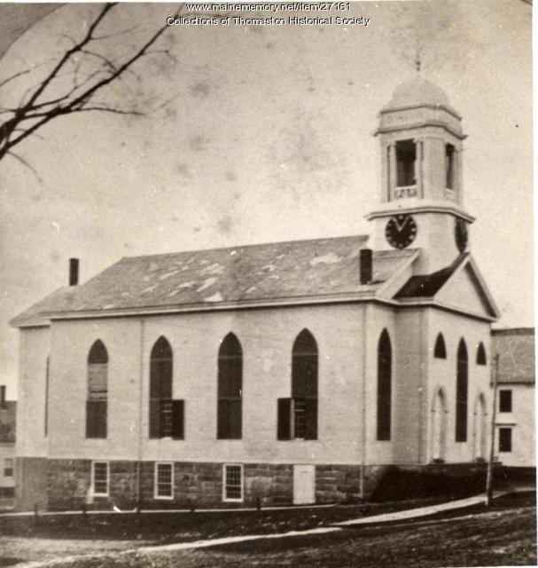 Second Baptist Church, Thomaston, ca. 1871