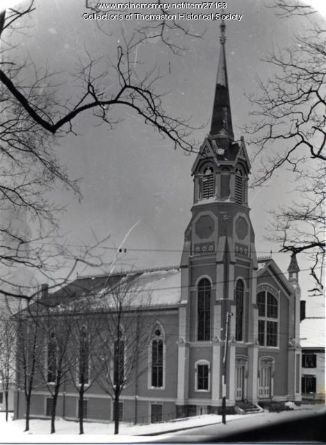 Second Baptist Church, Thomaston, ca. 1896