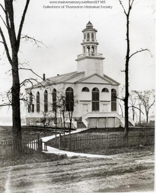 Congregational Church, Thomaston, ca. 1870