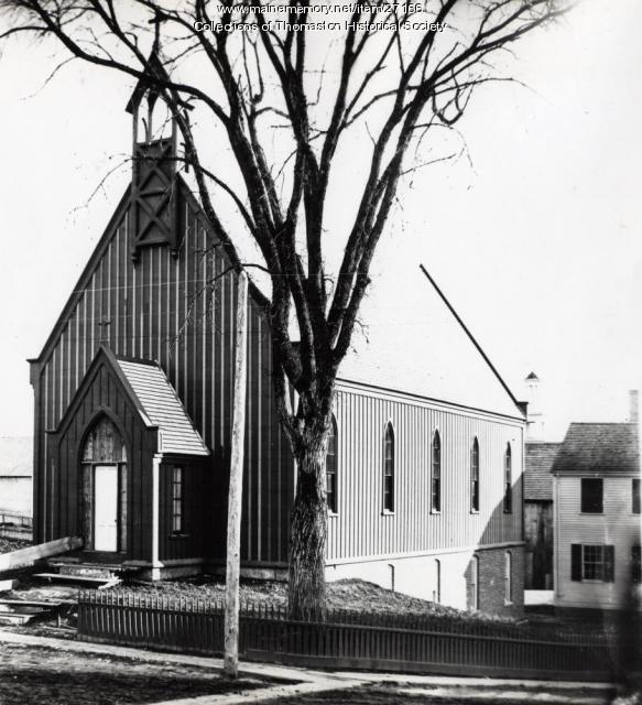 St. John the Baptist Episcopal Church, Thomaston, ca. 1870