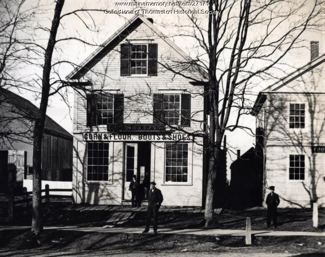 Wm. L. Fernald Store, Thomaston, 1870