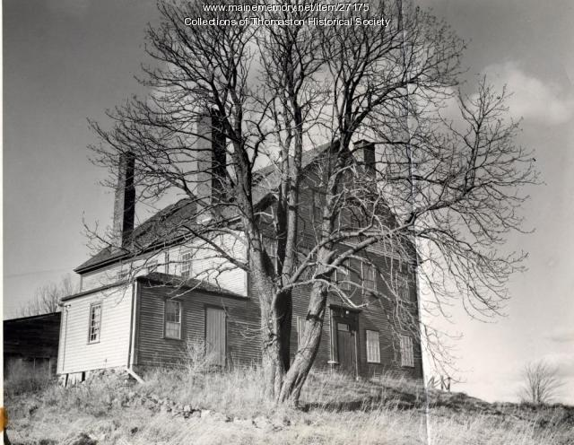 John Paine House, Thomaston, ca. 1950