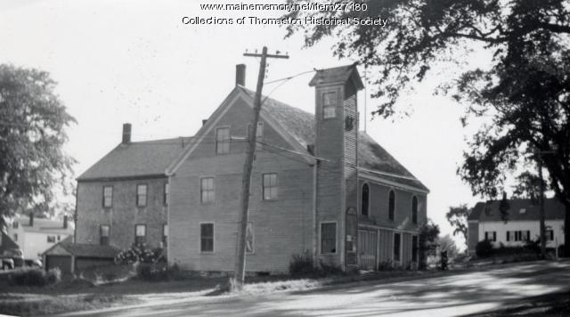 Stimpson's Hall, Thomaston, ca. 1950