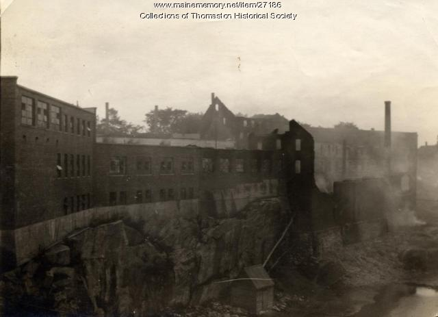 After the Prison Fire, Thomaston, 1923