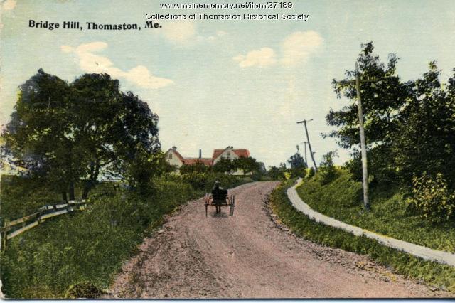 Brooklyn Heights Hill, Thomaston, ca. 1915
