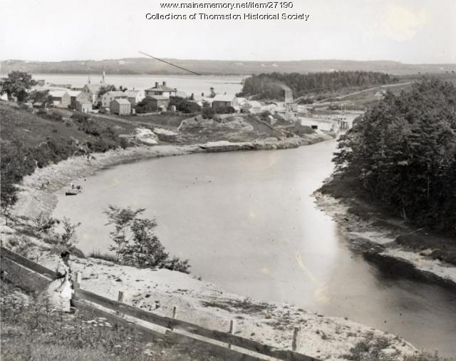 Georges River from Prison Site, Thomaston, ca. 1870