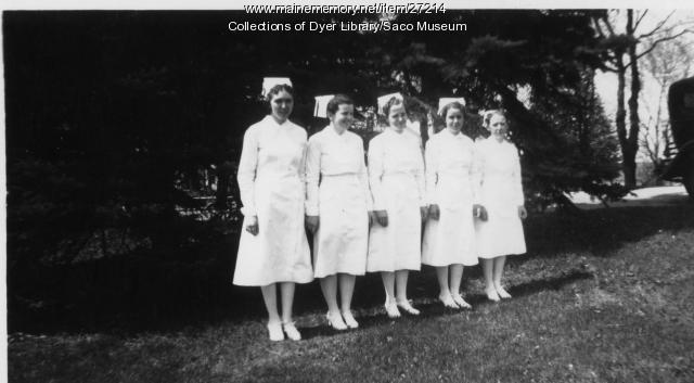 Trull Nurses, Biddeford, 1939