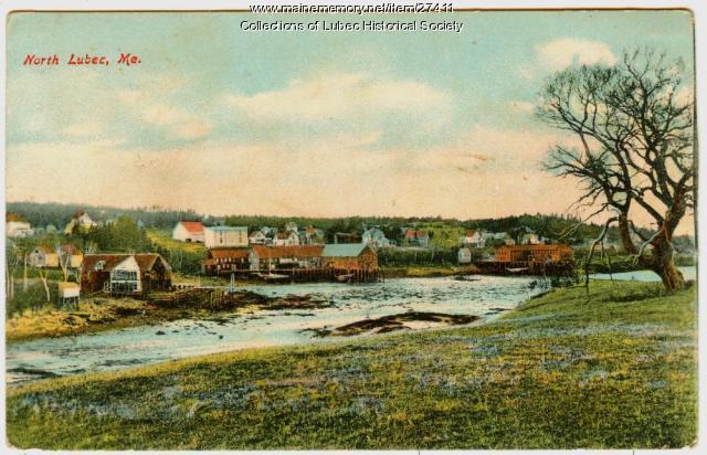 North Lubec view, Lubec ca. 1907