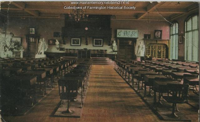 Farmington State Normal School, Farmington, ca. 1920