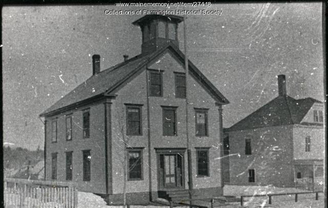 May School, Farmington, ca. 1870