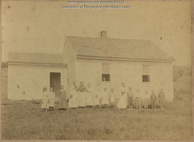 The Fairbanks School, Farmington, ca. 1885