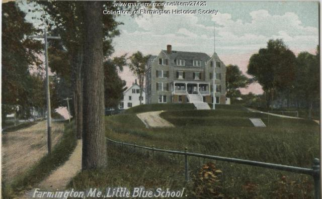 Little Blue School, Farmington, ca. 1920
