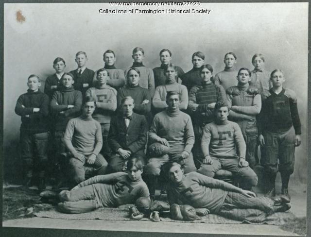 Farmington High School Football Team, 1908