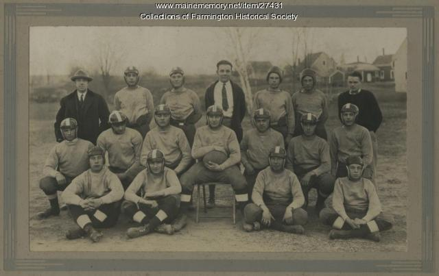 Farmington High School Football Team, ca. 1920