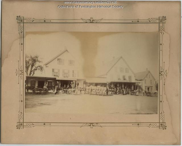 Lowell General Store. Farmington, Ca. 1890