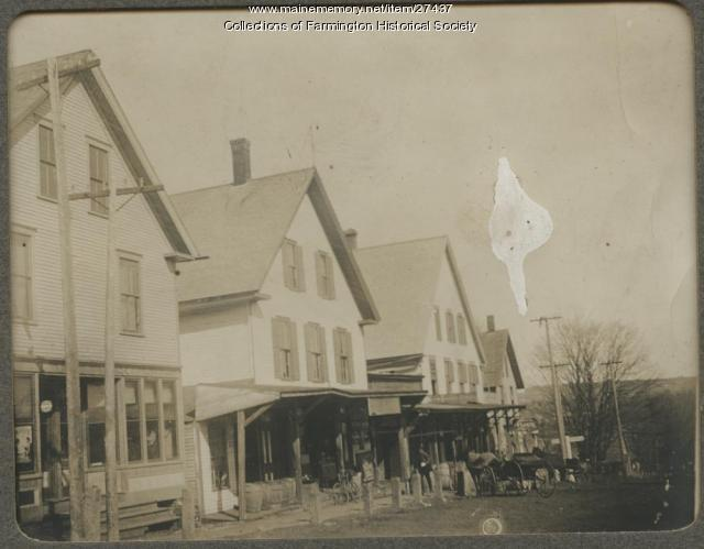 Lowell General Store, Farmington, circa 1914