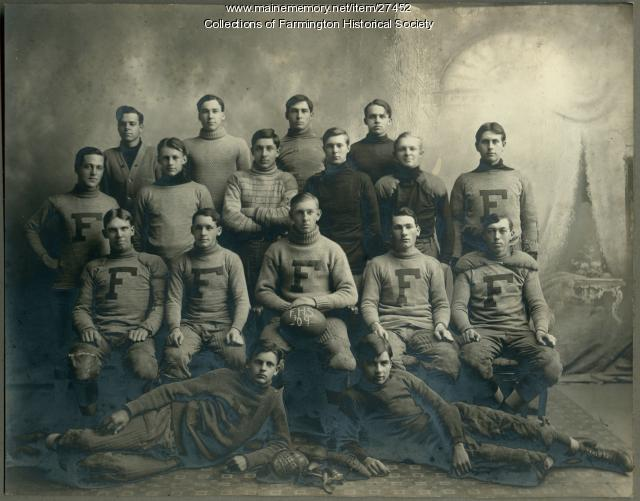 Farmington High School Football Team 1909
