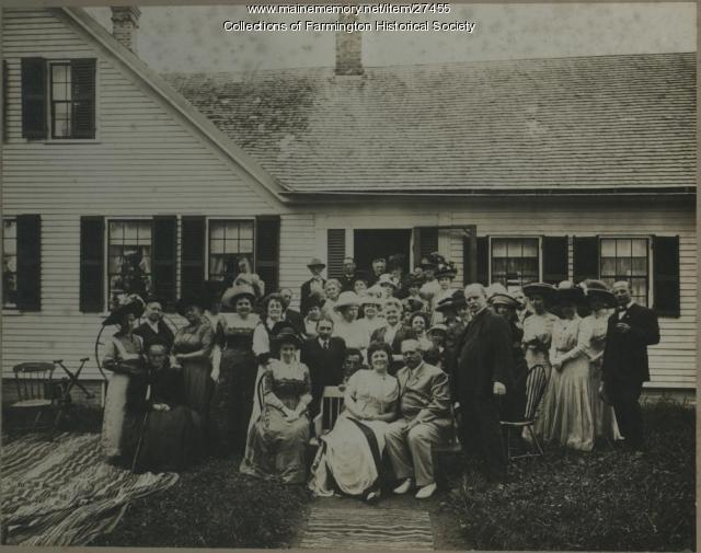 Norton Family Reunion, Farmington, early 1900s
