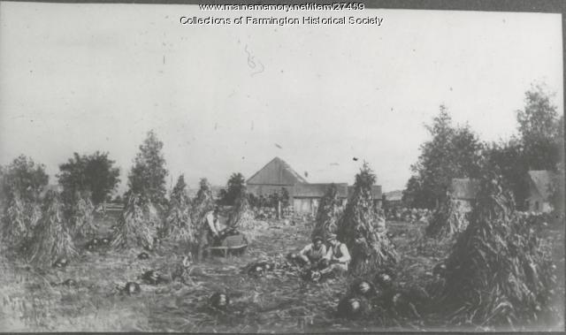 Farmington Harvest, pre 1900