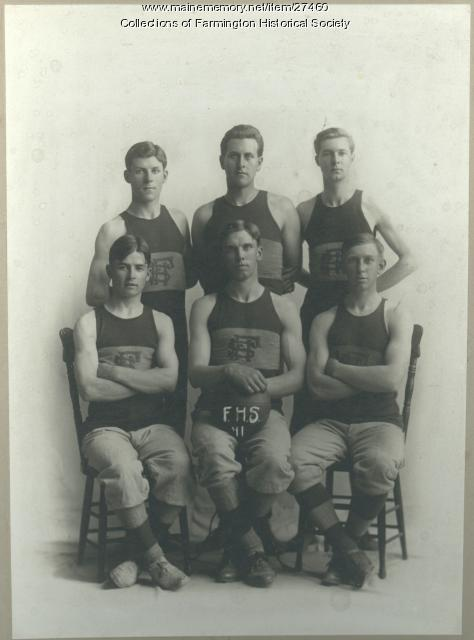 Farmington High School Basketball Team, 1911