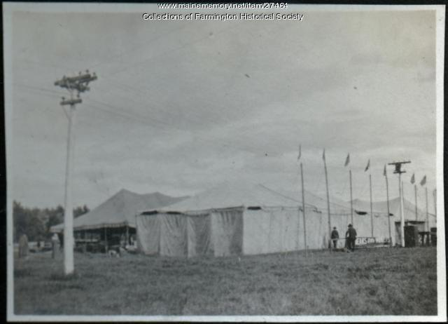 Farmington Fairgrounds, 1918