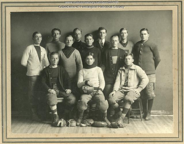 Farmington High School Football Team, 1911
