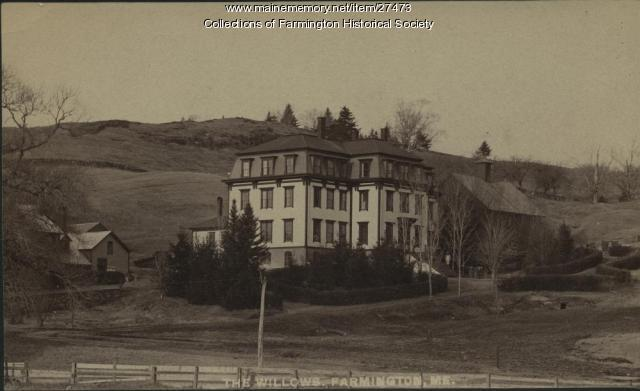 The Willows Hotel, Farmington, ca. 1885