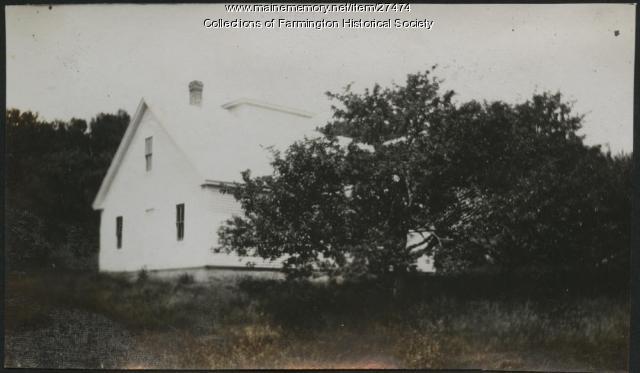 The New Sap House, Farmington, ca. 1915