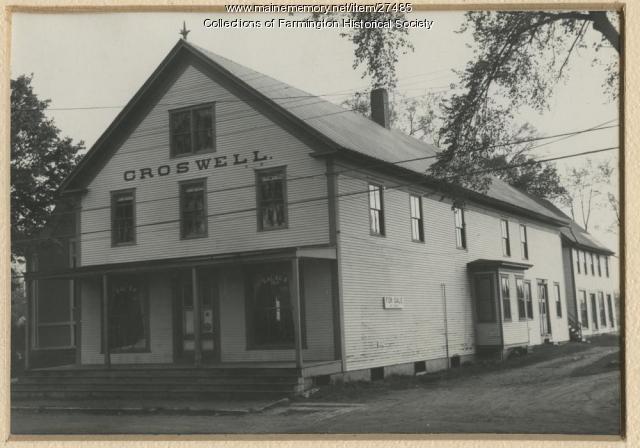 Croswell Store, Farmington, ca. 1890