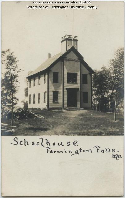 Farmington Falls Schoolhouse, ca. 1880